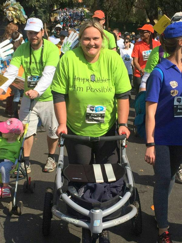 In July 2016 Wiandri participated in a Walking Race in South Africa with her Rehab and Physiotherapy team.